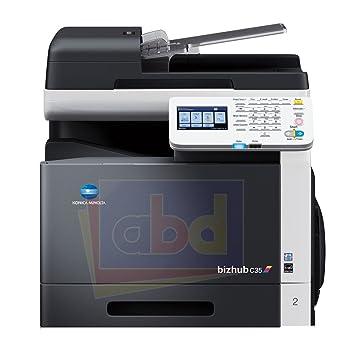 amazon com konica minolta bizhub c35 color laser multifunction rh amazon com konica bizhub c35 user manual Bizhub C353