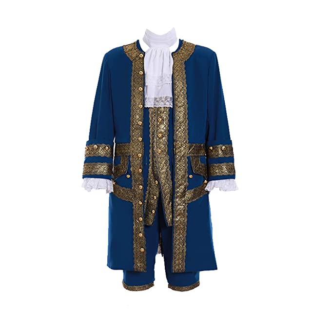 Masquerade Ball Clothing: Masks, Gowns, Tuxedos Fortunehouse Mens 18th Century Marie Antoinette Colonial Rococo Costume Court Suit $138.00 AT vintagedancer.com