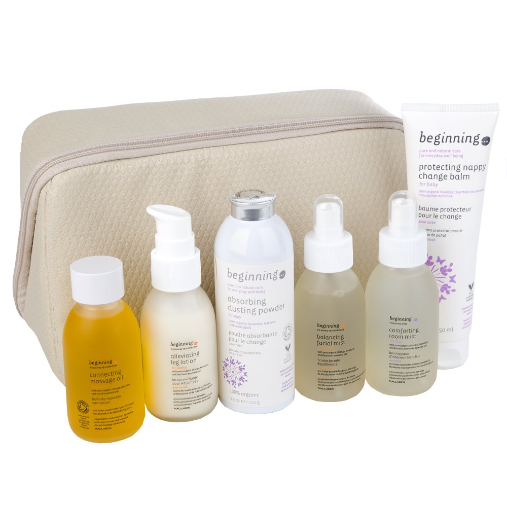 maclaren beginning organic essential oils travel kit for mother and baby amazoncouk kitchen u home