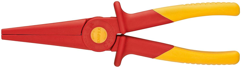 KNIPEX 98 62 02 Flachrundzange aus Kunststoff isolierend 220 mm Knipex-Werk - C. Gustav Putsch KG