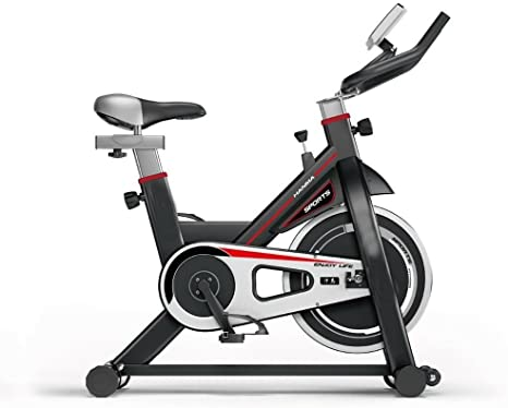 Deluxe Fitness Bicicleta de Spinning Fitness Resistencia Ajustable ...