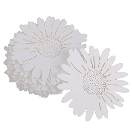 Amazon Tinksky Table Name Place Card Daisy Flower Style For