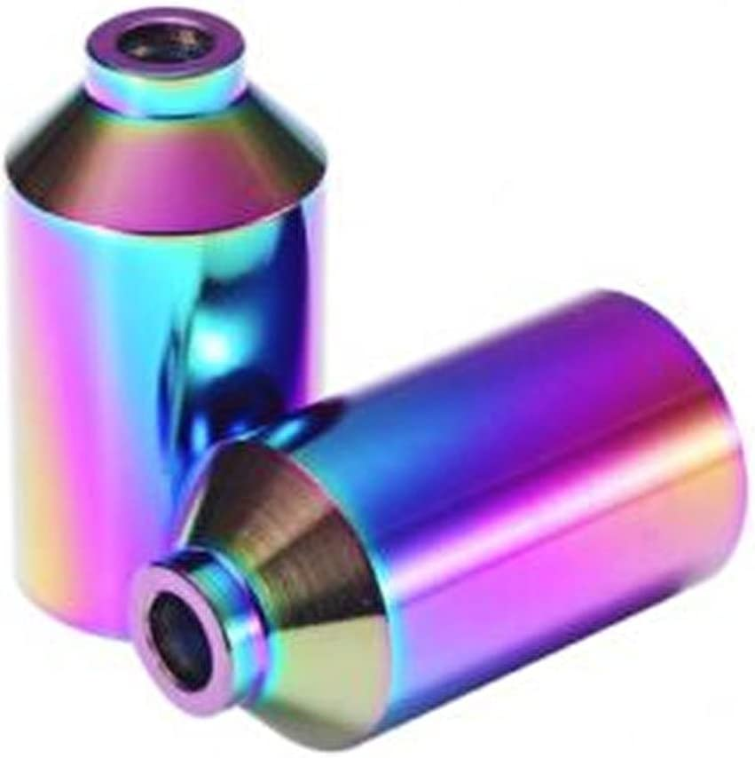 Neochrome//Oil Slick Blunt Chromoly Scooter Pegs
