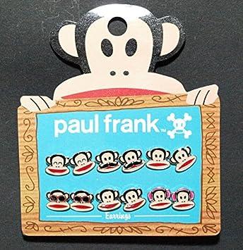 Ohrring Pack Paul Frank Julius Face Set 6 Anime New Lizenzprodukt PFE0004