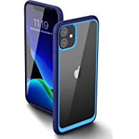 SUPCASE Unicorn Beetle Style Series Case Designed for iPhone 11 6.1 Inch (2019 Release), Premium Hybrid Protective Clear Case (Navy)