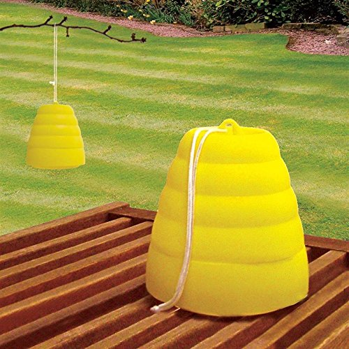 Yellow Jacket Wasp Traps - Plastic Bee Trap Beehive Wasp Catcher Yellow Jacket Hornet Table or Hang Anti Flying Insect Bug Trap Protect Garden Plants