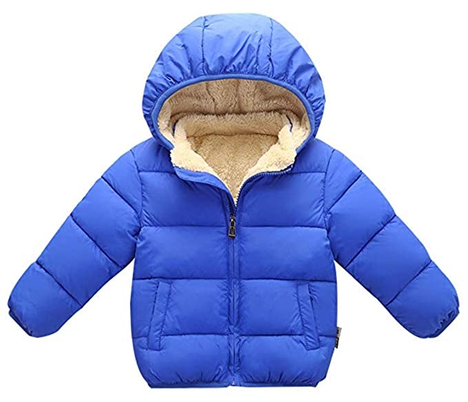 711c2f8cc37d Amazon.com  Elishow Baby Toddler Cotton Down Outwear Winter Warm ...