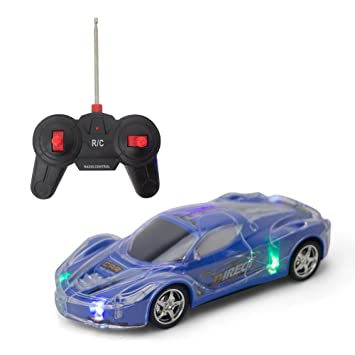 kids rc remote control race car kids action lights and sound assorted colors