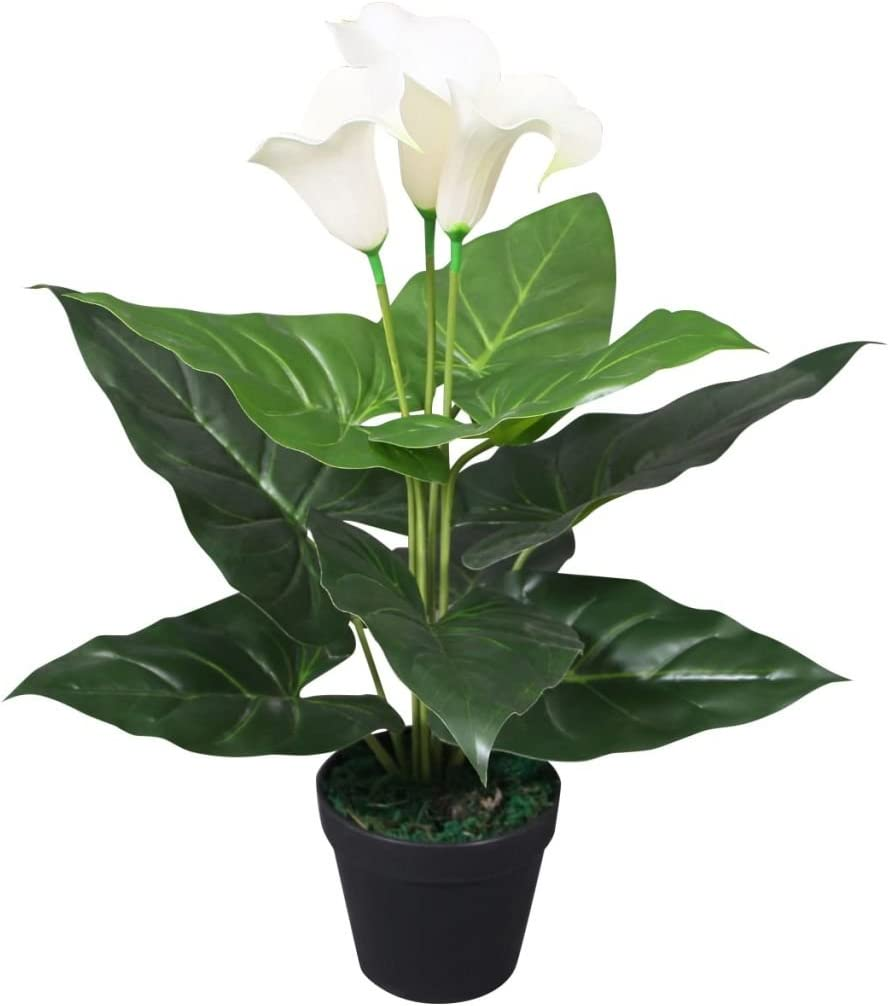 vidaXL Plante Artificielle avec Pot Orchid/ée D/écoration dInt/érieur 30 cm Rose