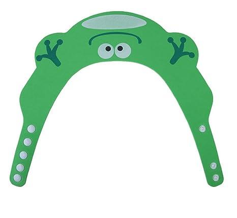 Augenschutz Komfortabel Duschhaube Modell 2 Gelb Ohren Einstellbar Geschenkidee Bad Bunt Weich Kinder
