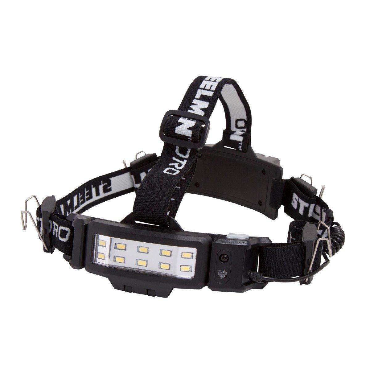 STEELMAN PRO 78834 Slim Profile Rechargeable LED 250-Lumen Motion Activated Headlamp by Steelman Pro