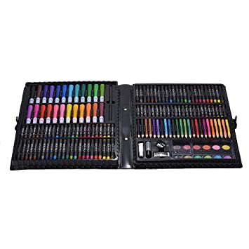 Amazon.com : Walmeck Color Pencils, 168pcs Drawing Pen Art ...