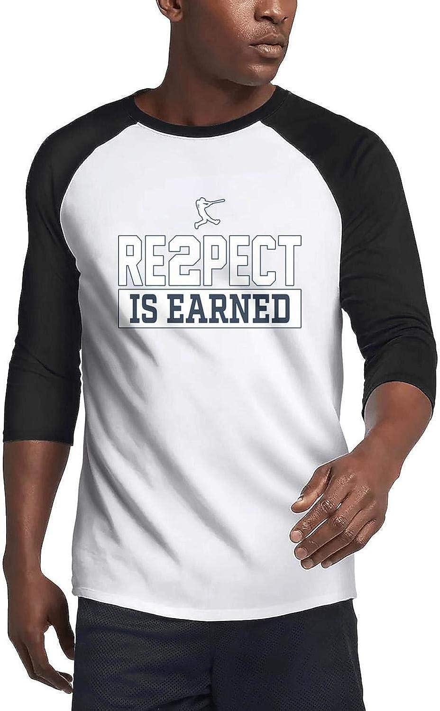 Mens Guys Cute 3/4 Sleeve Plain Raglan T-Shirts Family Cool Printing Tee Shirt