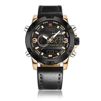 Relojes Deportivos Para Hombres Militar Reloj Digital Eléctrico A Prueba De Agua Cronómetro Ejército Resistente A
