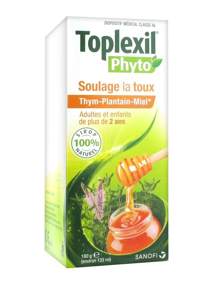 Amazon.com: Sanofi Toplexil Phyto Sirop Toux 180g: Health ...