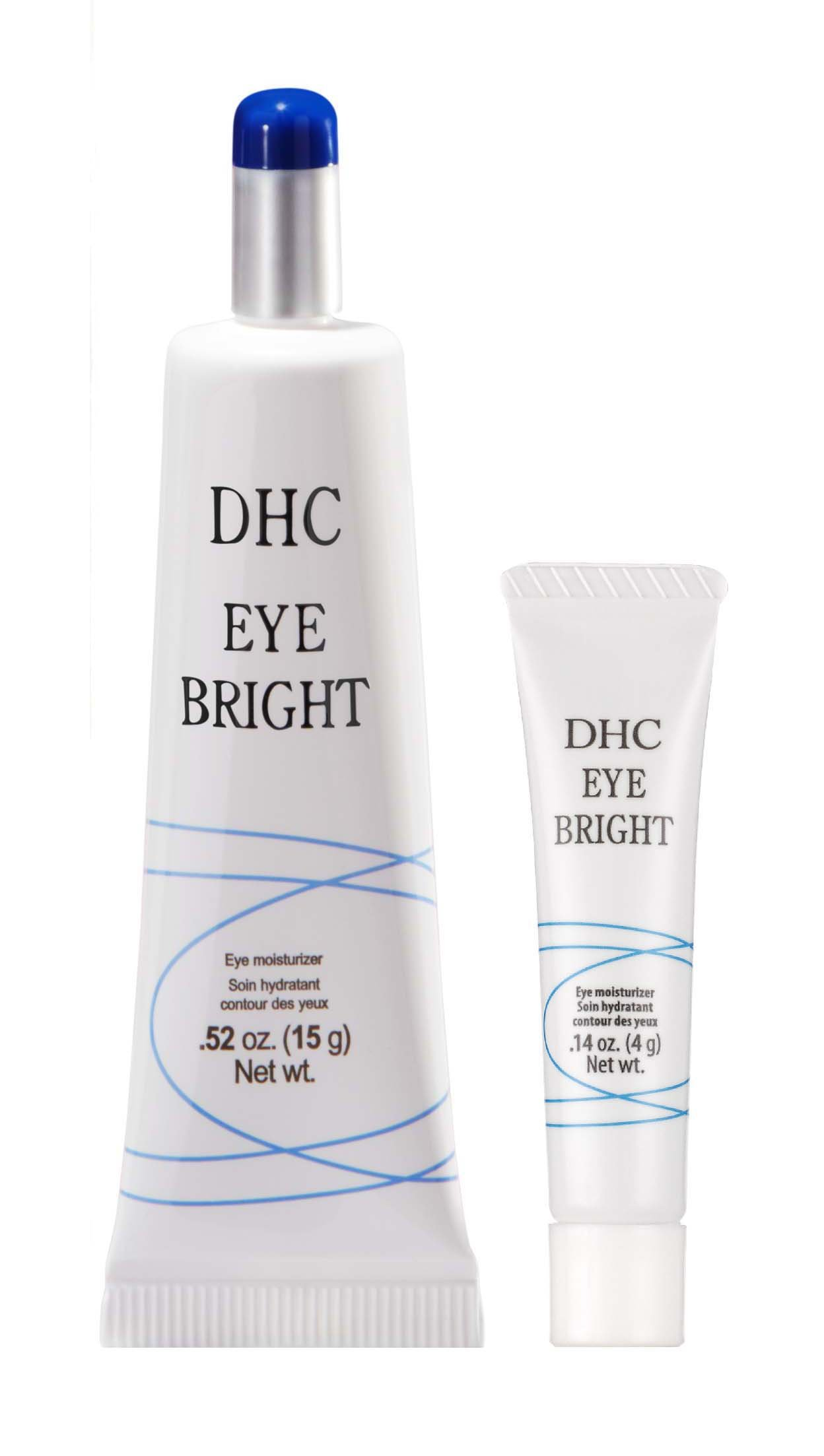 DHC Eye Bright, 0.52 oz. Net wt. & Eye Bright Travel Size, 0.14 oz. Net wt. by DHC