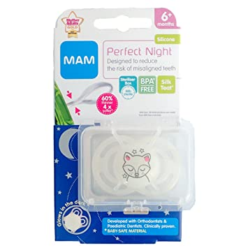 Amazon.com: MAM Perfect Night Soother 6m+ (Fox): Beauty