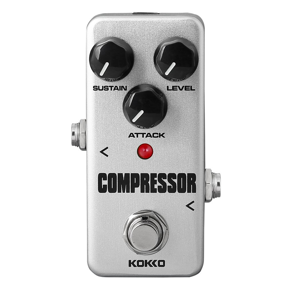 KOKKO FCP2 Compressor Pedal Portable Guitar Effect Pedal True Bypass