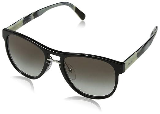 Prada 0PR09US 1AB0A7 55 Gafas de sol Negro (Black/Grey ...