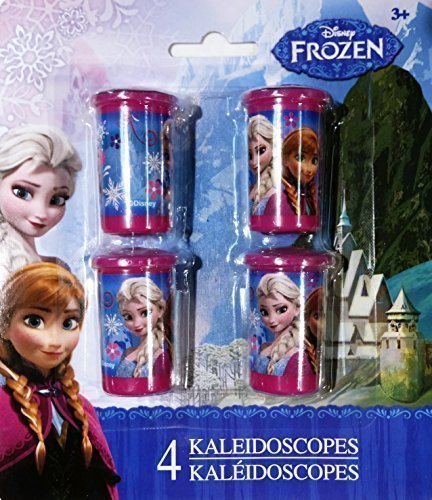 Disney Frozen Party Favor Sets, Assorted: 8 Whistles, 8 Kaleidoscopes or 8 Flutes