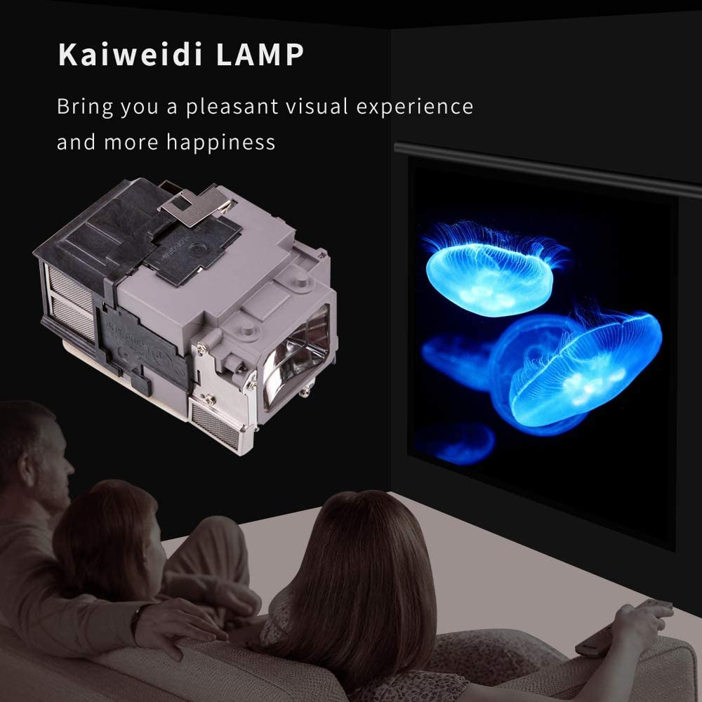 KAIWEIDI V13H010L94//ELPLP94 Replacement Projector Lamp for EPSON PowerLite 1780W 1781W 1785W,EB-1780W EB-1781W EB-1785W EB-1795F Projectors