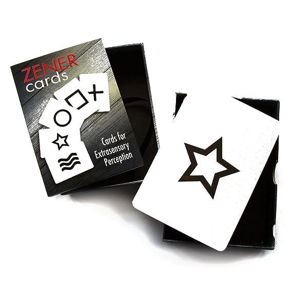 Zener - Juego de tarjetas rígidas para ESP 25 (incluye guía multilingüe)