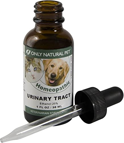 Only Natural Pet Urinary Tract, Kidney Bladder Formula Homeopathic Remedy for Cats and Dogs