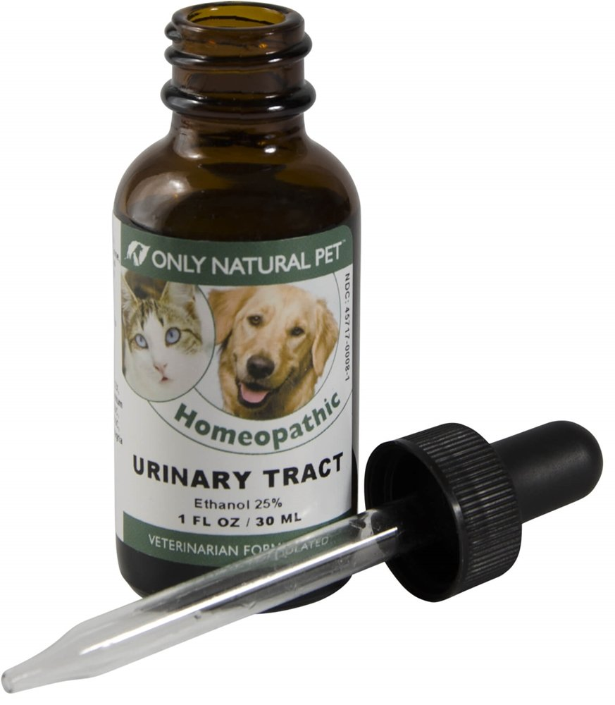 Only Natural Pet Urinary Tract, Kidney & Bladder Formula Homeopathic Remedy for Cats and Dogs