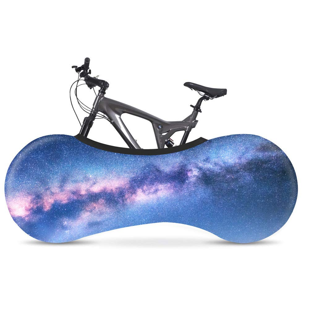 Three-dimensional Pattern Universal Bicycle Cover Road Mountain Bicycle Tire Tyre Cover Socks Practical Bike Dustproof Elastic Cover for Tires of 26-28 inches AIYL Bike Cover