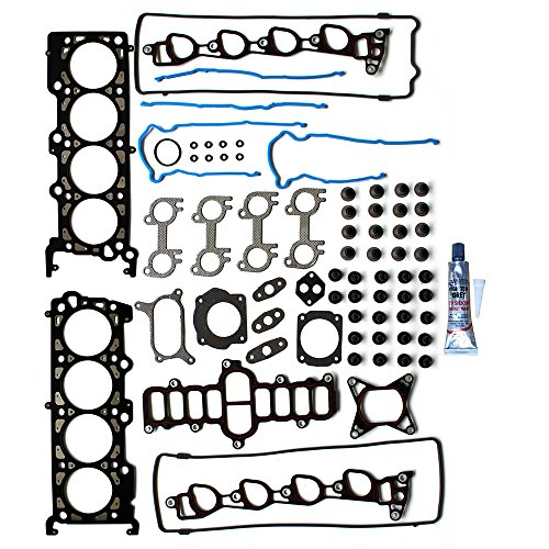 Cylinder Head Mercury Cougar (ECCPP Head Gasket Set for 95-00 Ford Crown Victoria Mustang Thunderbird Lincoln Town Car Mercury Cougar Grand Marquis 4.6L Engine Head Gasket Kit)
