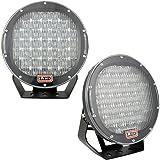 Lumitek 2x 96w 9 Inch Headlamp Lamp Black Round 3W CREE LEDS Flood Beam Work Light Off Road Light Bar Fog Light Driving…
