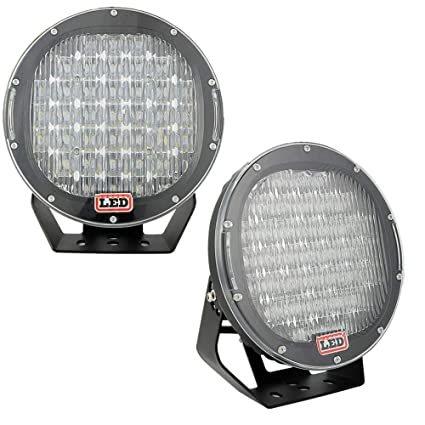"""185W Spot LED Work Light Driving Fog 9/"""" Headlight Offroad Fit For SUV Jeep"""