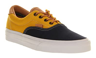 e618455e3d2919 Image Unavailable. Image not available for. Colour  Vans Era 59 Peacoat Blue  Yellow ...