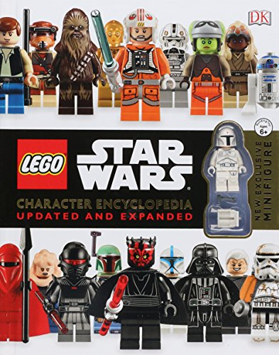 Book cover for LEGO Star Wars Character Encyclopedia