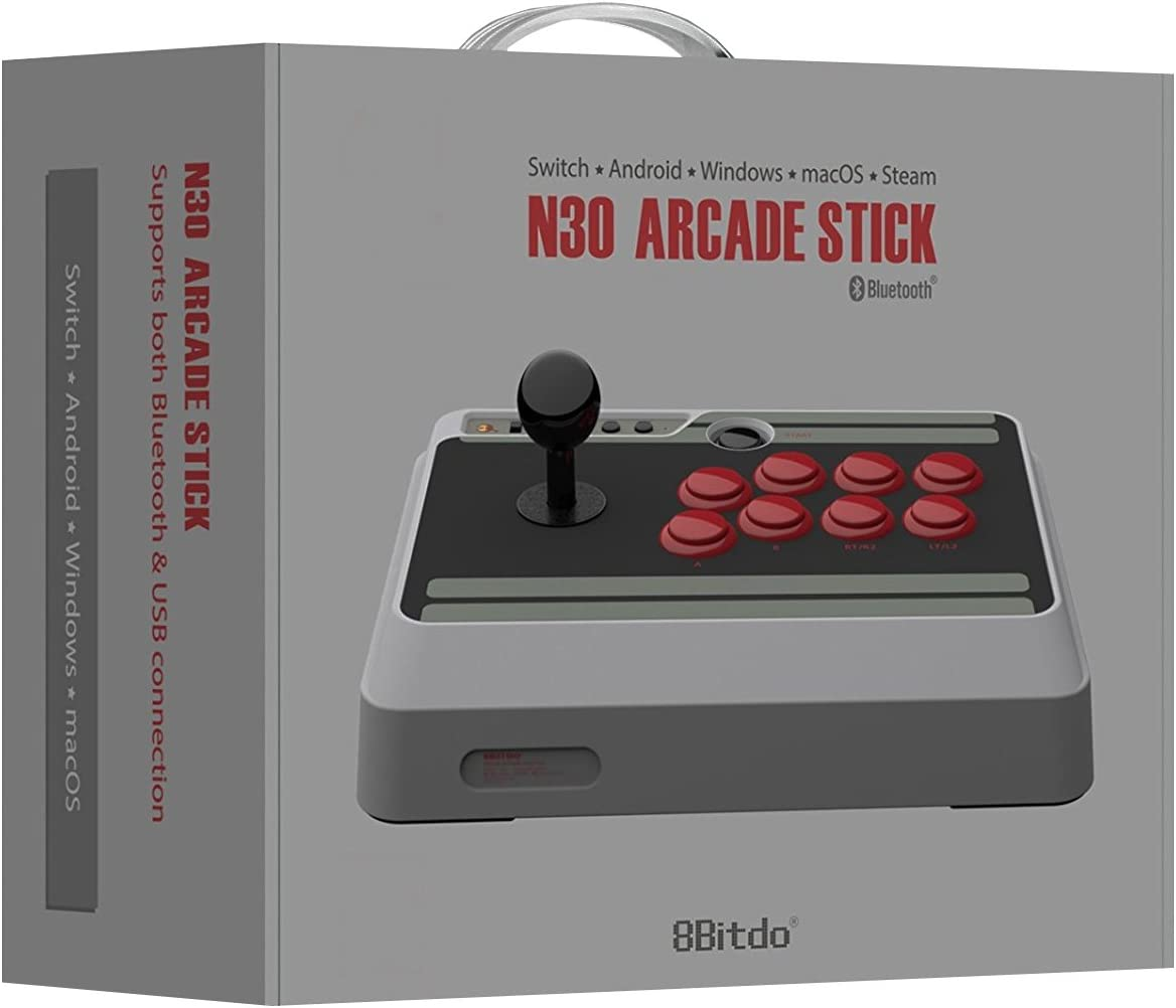 8bitdo N30 Arcade Stick Fight For Nintendo Connecting The Microswitch To Handy Board Switch Pc Mac Android Video Games