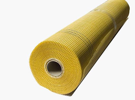 7 Rollen 165 g//m²  5x5mm 350m² Putzgewebe Glasfaser Gewebe Glasfasergewebe Putz