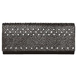 Carlo Fellini - Ellaria Evening Bag (N 299) (Black)