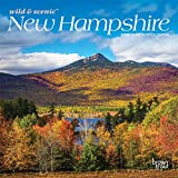 New Hampshire Wild & Scenic 2020 7 x 7 Inch Monthly Mini Wall Calendar, USA United States of America Northeast State Nature