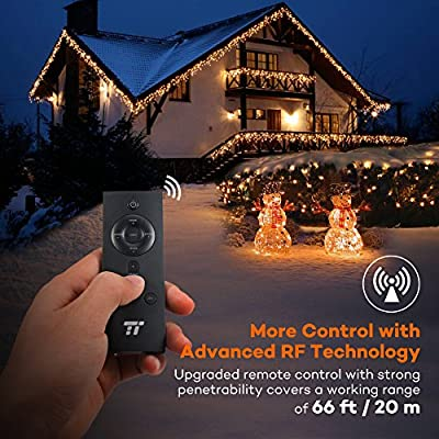 TaoTronics LED String Lights With RF Remote Control