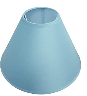 9 23cm coolie lamp shade ceiling lamp light shade mid blue 12 coolie ceiling table lamp shade main colour light blue aloadofball Image collections