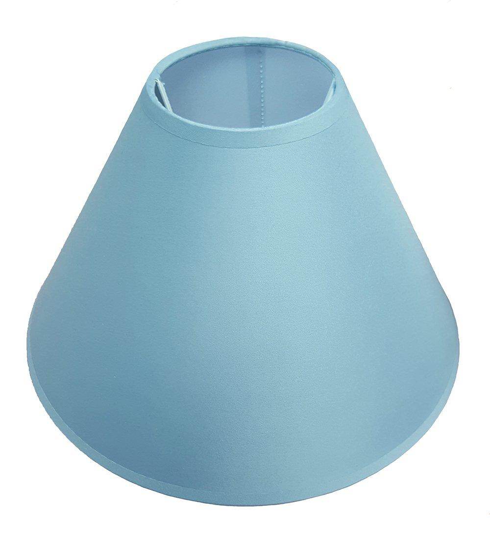 Abat-jour pour lampe de plafond ou de bureau/chevet Aubergine, noir, bleu clair, vert clair, lilas, vert pomme, bleu marine, pêche, rose, primevère, rouge, blanc, bordeaux 30 cm