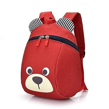 e98808cbaa02 Honeststar Dinosaur Children Backpack with Leash, Anti-Lost Children  Backpack, Toddler Backpack,Cartoon Backpack for Toddler 1-3 Years