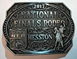 HESSTON 2017 NATIONAL FINALS RODEO NFR ADULT BELT BUCKLE NEW COWBOY WRANGLER PRORODEO