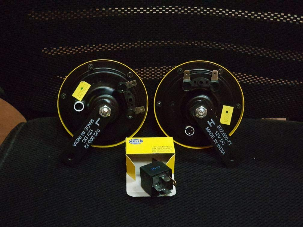 VSI Hella Twin Supertone Horn Kit 003399801 Real Hella Yellow Free Ship Tx Pa Ny Ok