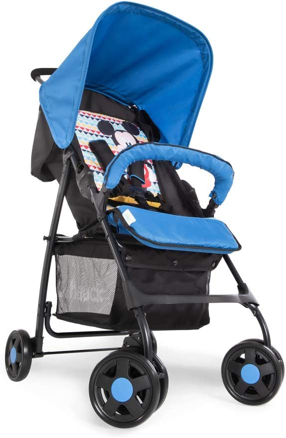 Front Bar Basket Hauck Sport Disney Black Second Stroller up to 15 kg Small and Simple Closure with Sleeper Position Coat Pooh Geo