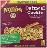 Annie's Chewy Gluten Free Granola Bars, Oatmeal Cookie - Best Reviews Guide