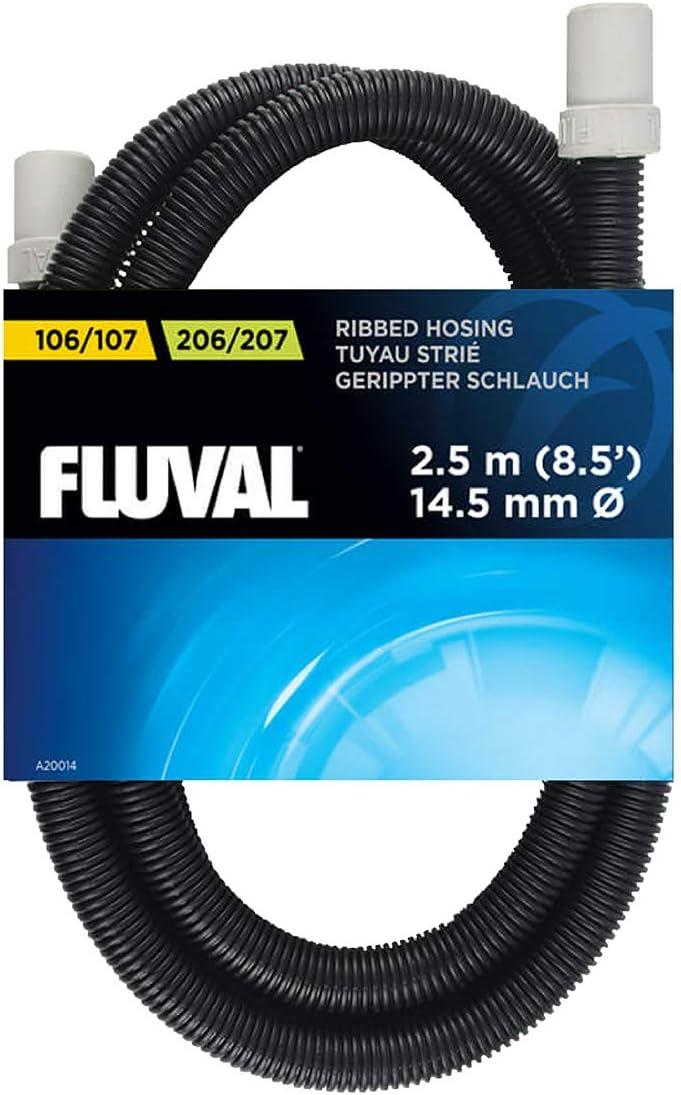 Fluval Manguera de Plegables para los Filtros 106 y 206 de la Serie 04/05, Gris