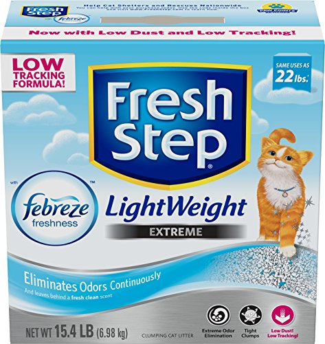 fresh-step-lightweight-extreme-with-febreze-freshness-clumping-cat-litter-scented-154-pounds