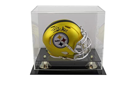 TJ Watt Autographed//Signed Pittsburgh Steelers Riddell Mini Helmet JSA