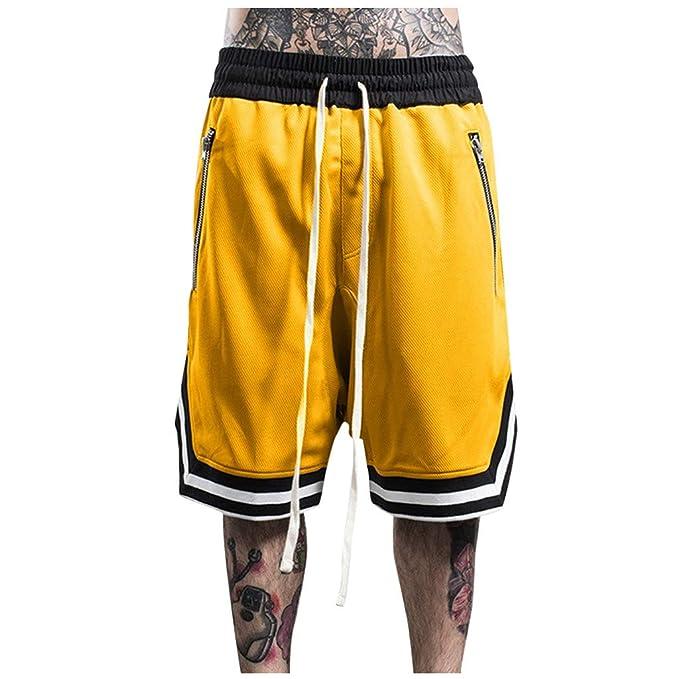 beautyjourney Shorts Deportivos para Hombres Pantalones ...